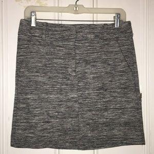 LOFT heathered skirt NWOT